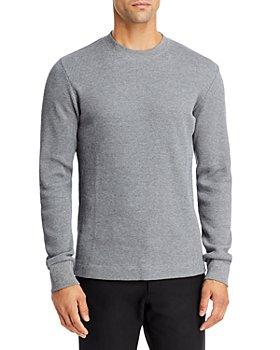 Theory - Mattis Waffle Knit Crewneck Sweater