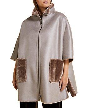 Marina Rinaldi - Efeso Faux-Fur Reversible Coat