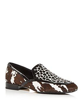 Donald Pliner - Women's Rezza Mixed Print Calf Hair Smoking Slippers