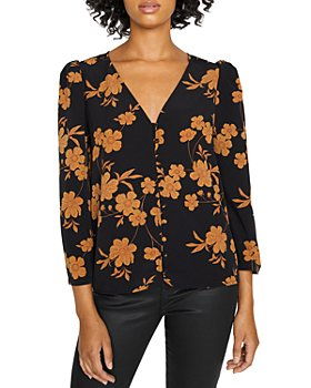 Sanctuary - Make A Statement Floral Print Top