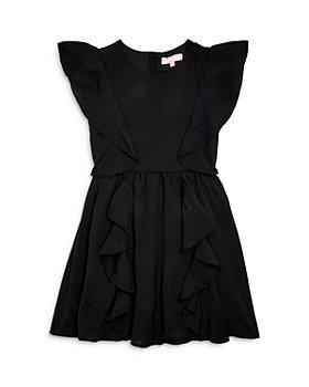 BCBG - Girls' Ruffled Crepe Dress - Big Kid