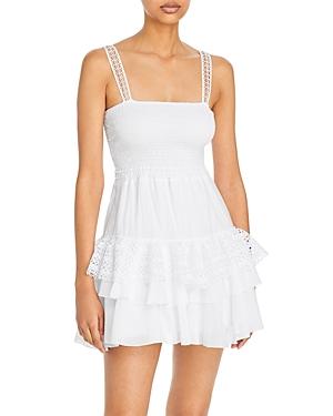 Celina Smocked Ruffled Mini Dress