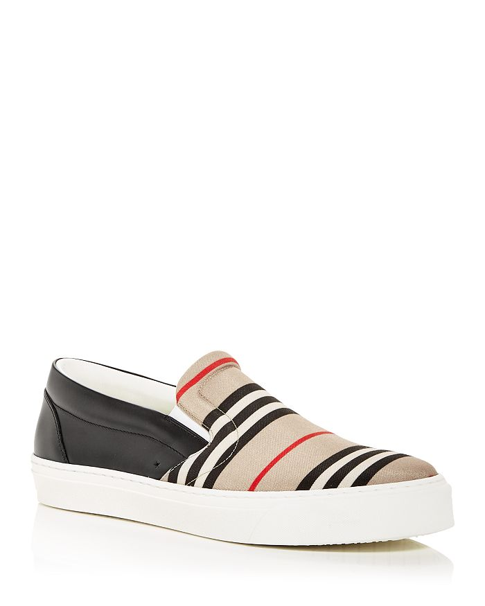 Burberry - Men's Thompson Icon Stripe Low Top Sneakers