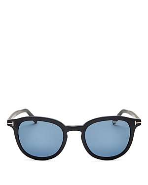 Tom Ford Men\\\'s Polarized Round Sunglasses, 51mm-Jewelry & Accessories