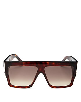 CELINE - Unisex Flat Top Square Sunglasses, 60mm