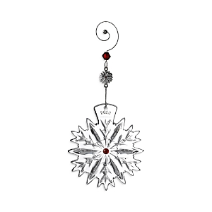 Waterford Snowflake Wishes Love Ornament 2020-Home