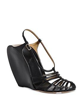 Lanvin - Women's  Wedge Banana Heels