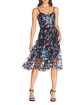 Dress the Population - Uma Floral Dress