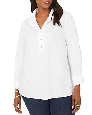 Evelina Non-Iron Popover Shirt