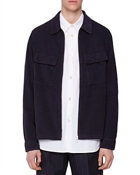 PS Paul Smith - Zip Front Regular Fit Overshirt