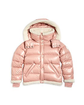SAM. - Girls' Avery Shearling Trim Down Puffer Jacket - Big Kid