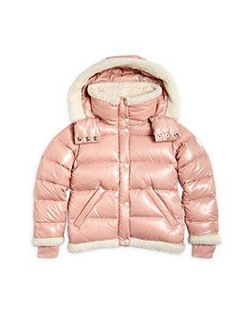 SAM. - Girls' Avery Shearling Trim Down Puffer Jacket - Big Kid