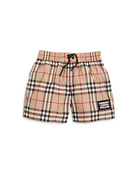 Burberry - Boys' Kameron Vintage Check Swim Trunks - Little Kid, Big Kid