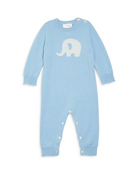 Bloomie's - Boys's Elephant Cashmere Playsuit - Baby
