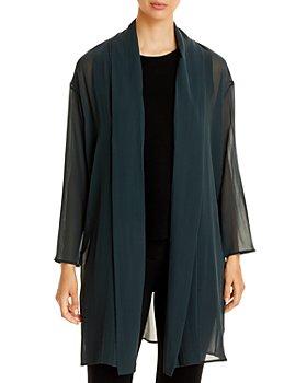 Eileen Fisher - Sheer Chiffon Jacket
