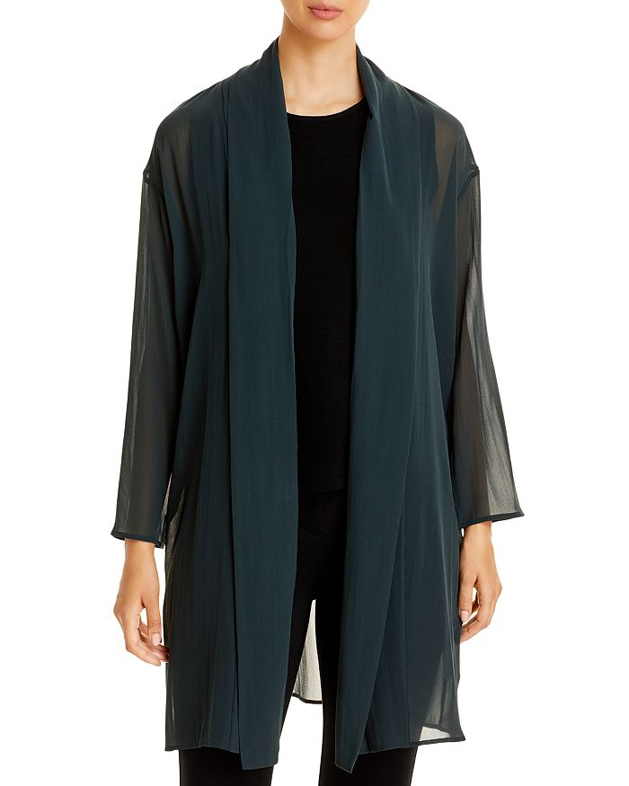 Eileen Fisher - Sheer Chiffon Jacket
