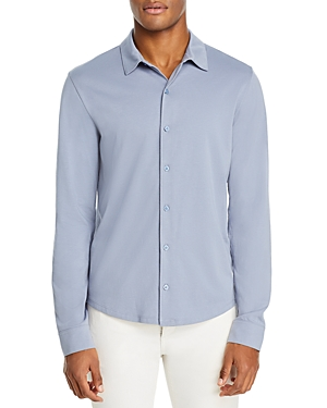 Vince Slim Fit Pima Shirt-Men