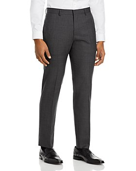 BOSS - Genius Micro Check Slim Fit Suit Pants