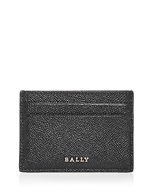 Bally Essence Color Block Leather Card Case-Men