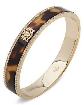 Ralph Lauren - Crest Pave Edge Bangle Bracelet