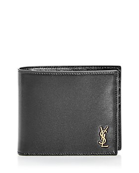 Saint Laurent - Leather Bi Fold Wallet & Card Case