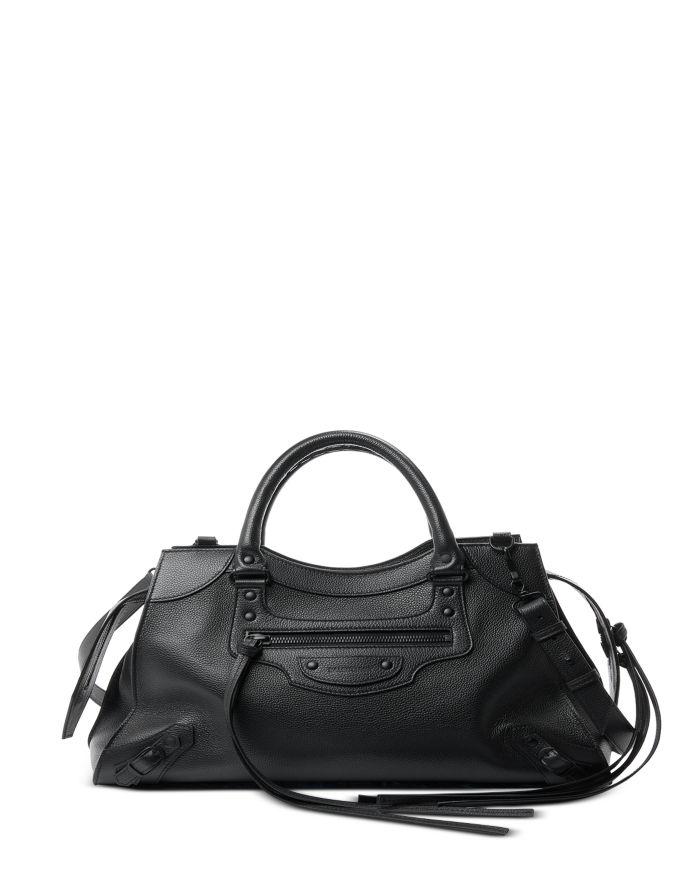 Balenciaga Neo Classic Medium Leather Shoulder Bag    Bloomingdale's