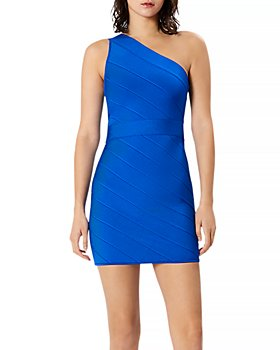 Hervé Léger - Icon One Shoulder Mini Dress