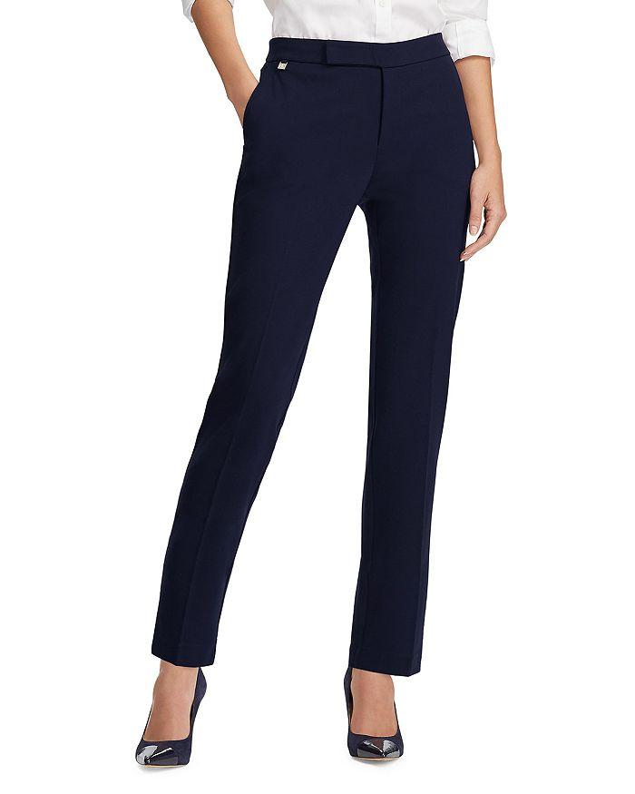 Ralph Lauren - Ponte Straight Leg Ankle Pants