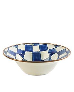 Mackenzie-Childs - Royal Check Breakfast Bowl