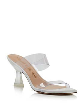 Stuart Weitzman - Women's Kristal Clear High Heel Sandals