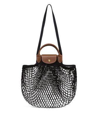 Longchamp Le Pliage Filet Knit Bag Handbags - Bloomingdale's