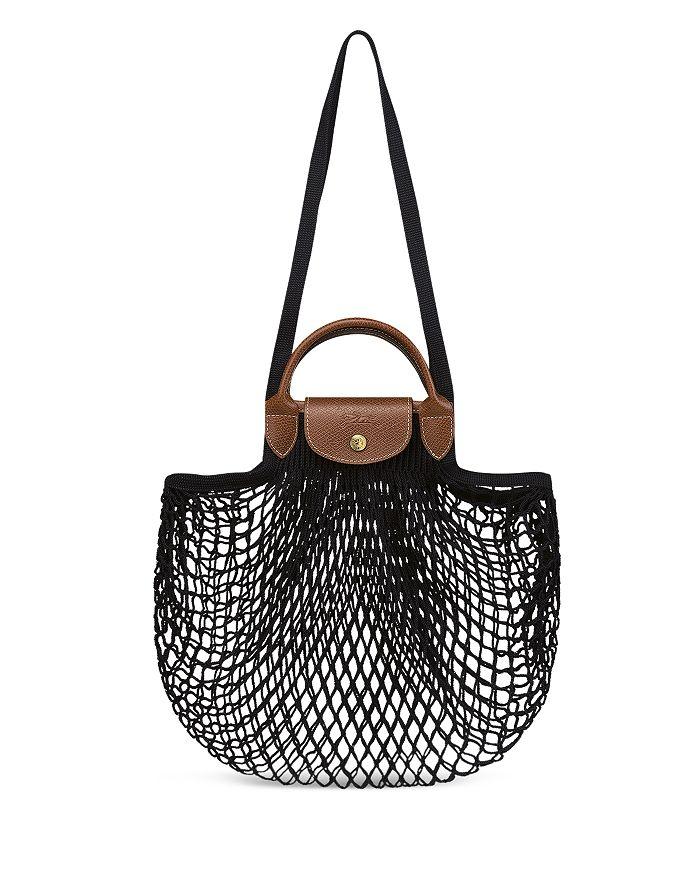Longchamp Leathers LE PLIAGE FILET KNIT BAG