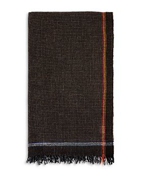 The Men's Store at Bloomingdale's - Checked Woven Scarf - 100% Exclusive