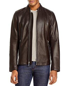 KARL LAGERFELD PARIS - Leather Moto Jacket