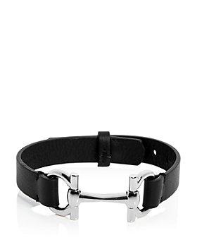 Salvatore Ferragamo - Gancini Link Leather Bracelet