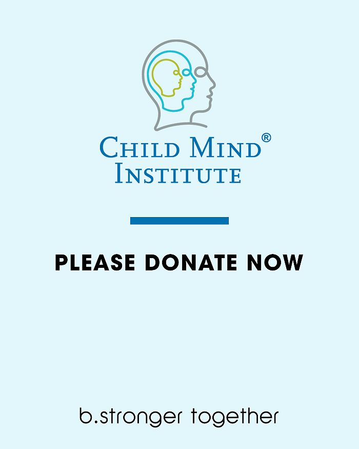 Bloomingdale's - Child Mind Institute Donation