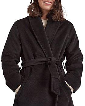 Gerard Darel - Swan Belted Wool Coat
