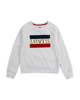 Levi's - Girls' Crewneck Fleece Sweatshirt - Big Kid