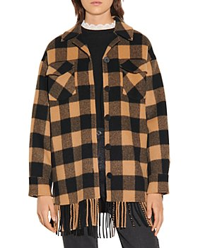 Sandro - Feny Checkered Jacket