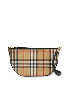 Burberry - Olympia Vintage Check Pouch