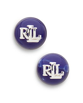 Ralph Lauren - Logo Stud Earrings
