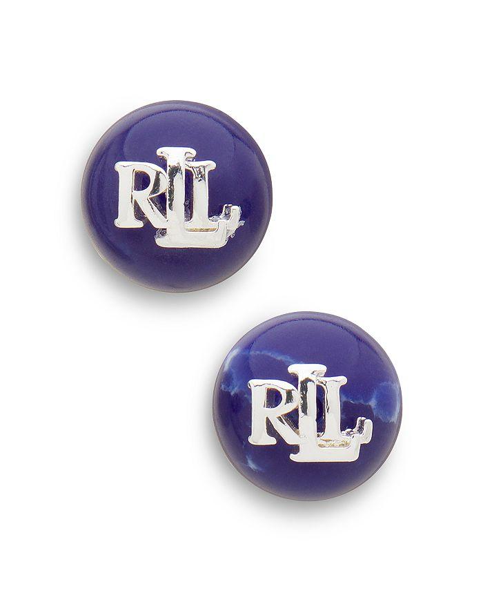 Ralph Lauren - Logo Stud Earrings