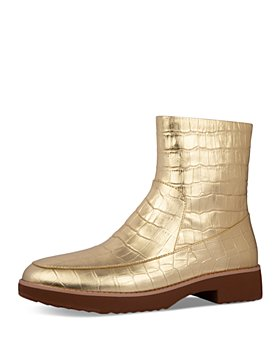 FitFlop - Women's Kinbey Embossed Ankle Boots