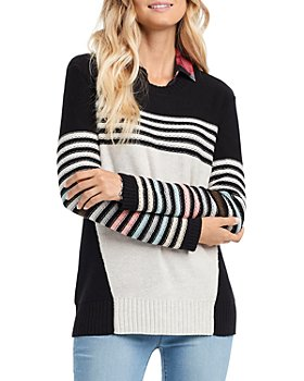 NIC and ZOE - Inner Stripe Sweater
