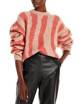 REMAIN - Cami Striped Knit Wool Blend Sweater