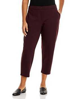 Eileen Fisher Plus - Slouchy Ankle Pants