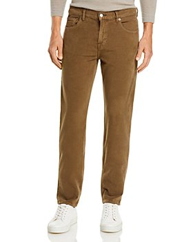 7 For All Mankind - Slimmy Moleskin Slim Straight Fit Jeans