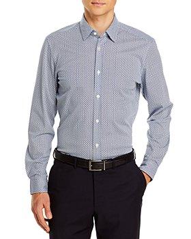 BOSS - Lukas Printed Regular Fit Button-Down Shirt