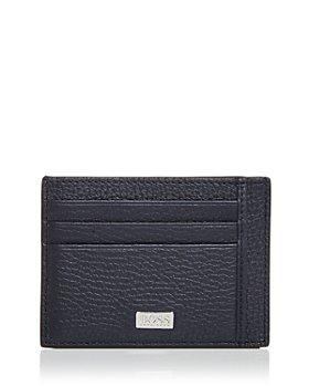 BOSS Hugo Boss - Crosstown Leather Card Case