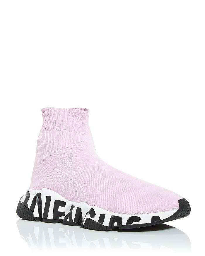 Balenciaga Women's Speed Knit High Top Sneakers